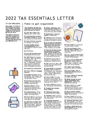 Tax Essentials Newsletter