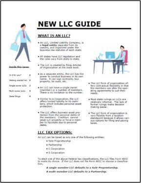 New LLC Guide